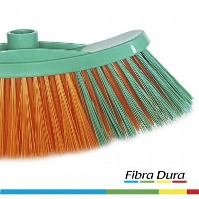 Escoba Z Popular Fibra Dura Multicolor